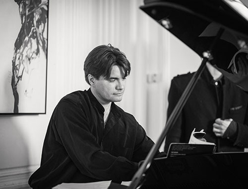 Exceptional concert by Nicolas Horvath on Sunday 18th March