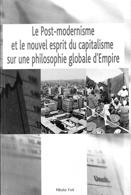 Edition of the last book by Nkolo Foé fellow researcher in the IAS in Nantes from January to June  2009